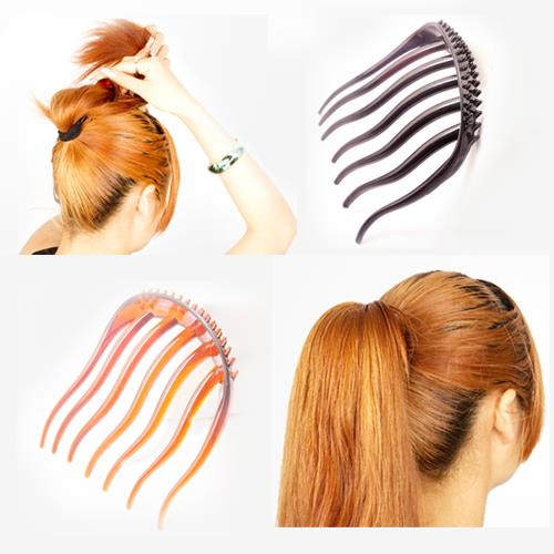 Korean Hot Type~Ponytail Comb Hair Pad