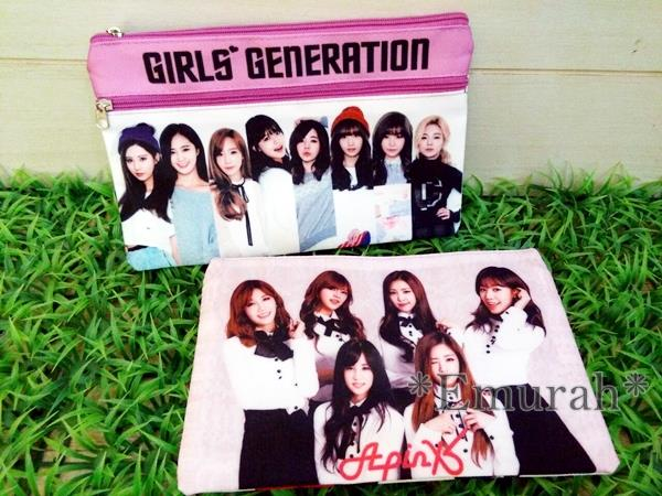 Korean KPOP Girls Generation Pencil Case P3