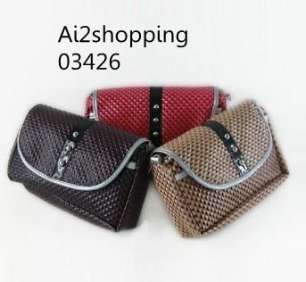 Korean leather simple bags03426