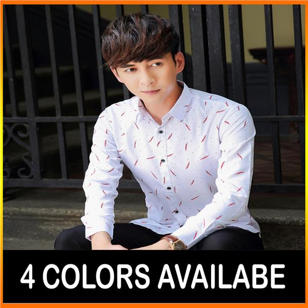 Korean Men Shirt / Casual Shirt High Quality Cloth (4 Colors)