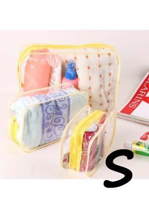Korean Thick PVC Transparent Storage Bag (S)