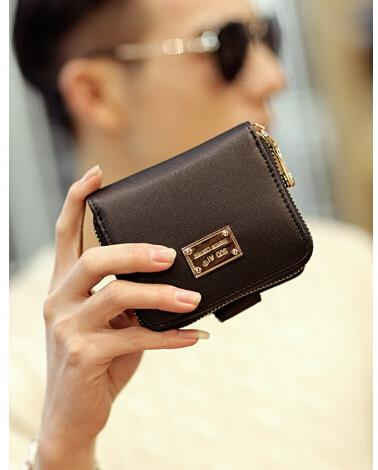 Korean version of fashion trend men short wallet