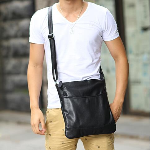 The new Korean version male business leisure messenger bag