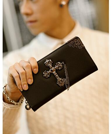 Korean version of the personality men cross long wallet