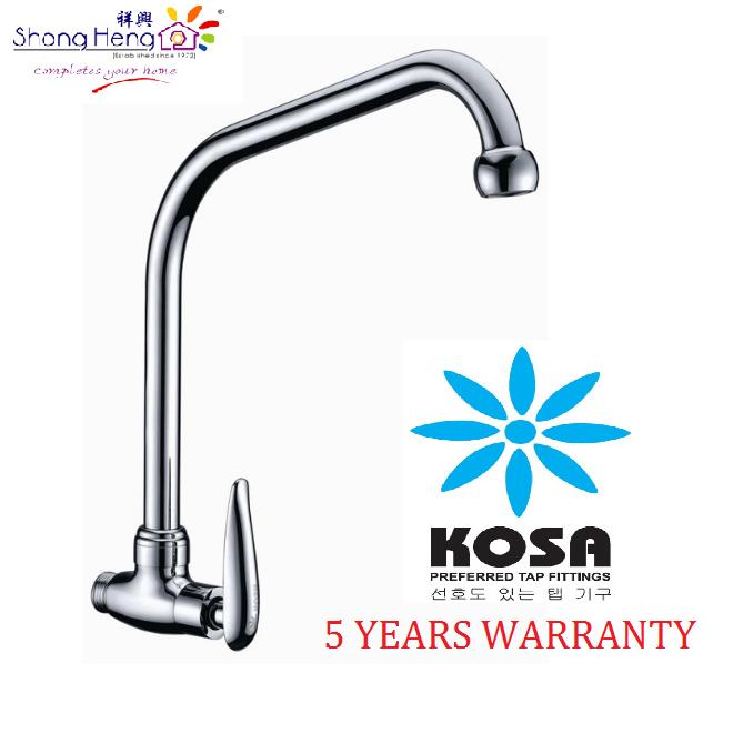 KOSA OT003WS7 Olive Series Wall Mounted Sink Tap 7 Spout