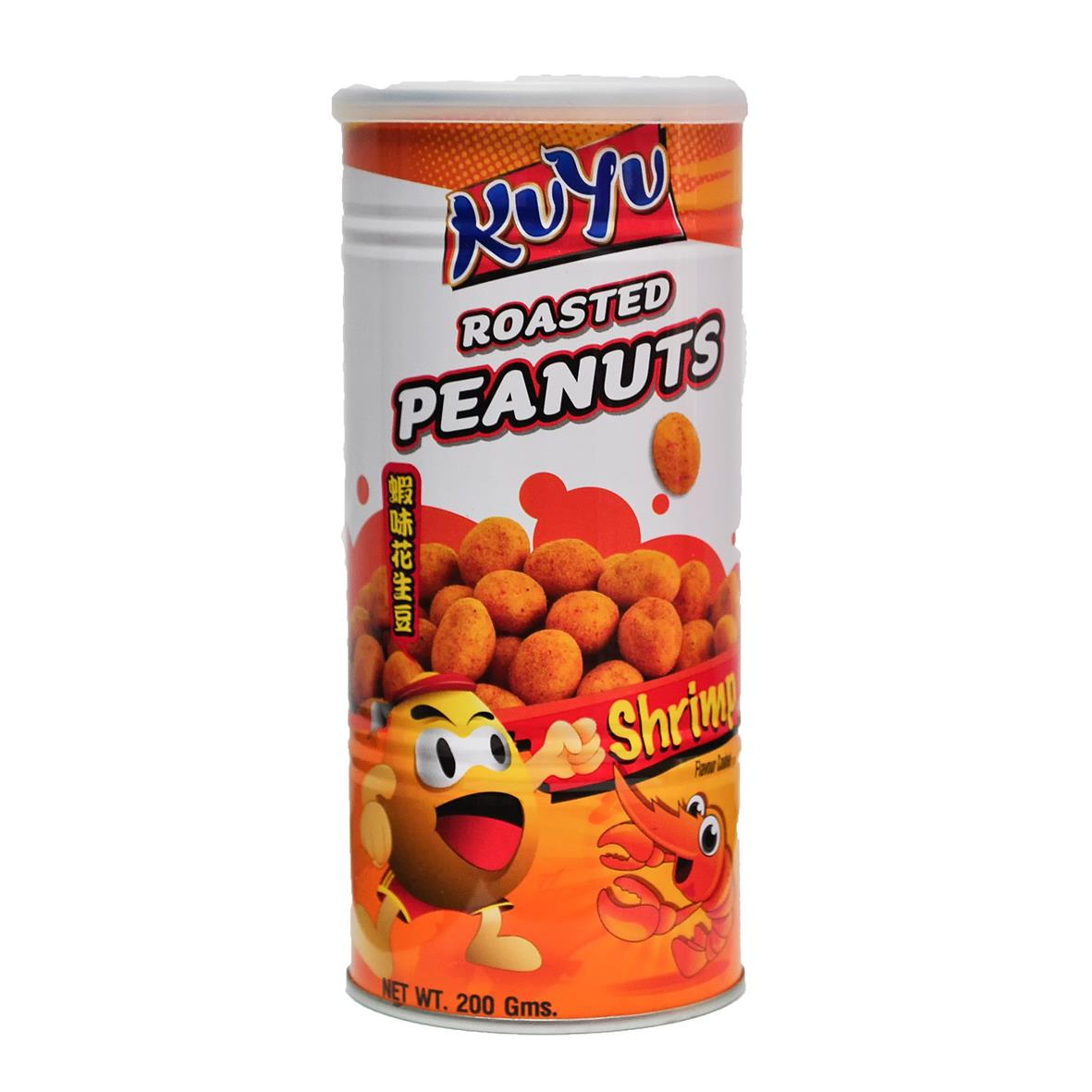 Kuyu Roasted Peanut Shrimp Flavoured 200g