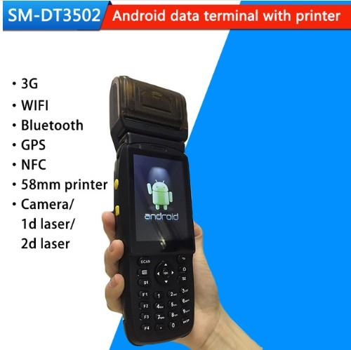 l Android Industrial PDA Barcode Scanner with Thermal Printer