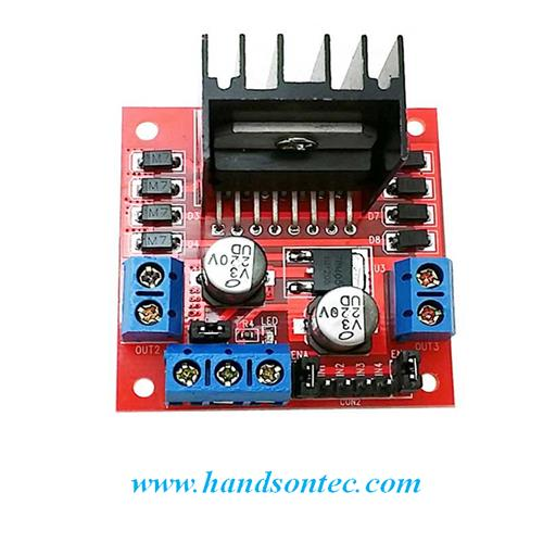PUSH-PULL FOUR CHANNEL DRIVER WITH DIODES - Arduino