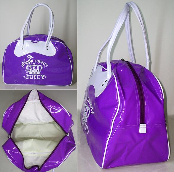 Ladies Fashion Sports Bag Juicy Purple