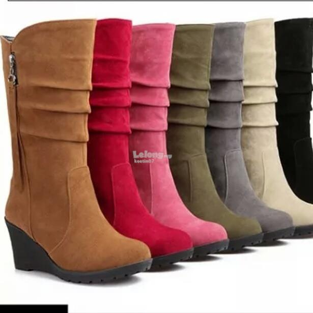Lady winter autumn spring boots (7colours)