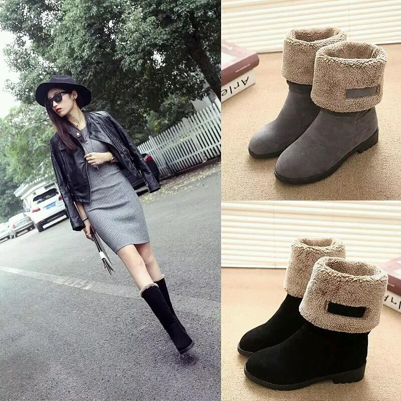 Lady winter boots (2-way wear)