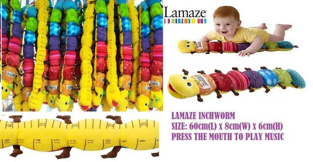 Lamaze Musical Inchworm Soft Toys fo Baby
