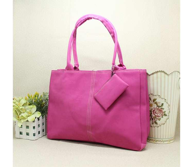 LARGE BAG WITH POUCH -BTC3750ROSE