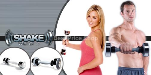 Latest Shake Weight  for Men & Woman (with Workout DVD)