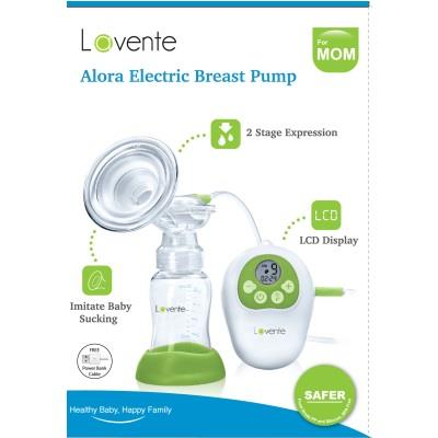 New Lavente Lavante ALORA Single Electric LCD Breast pump