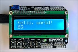 Arduino LCD KeyPad Shield Introduction - Robotshop