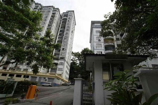 Le Chateau 2 Apartment for sale, Facing Green, Taman Seputeh, KL
