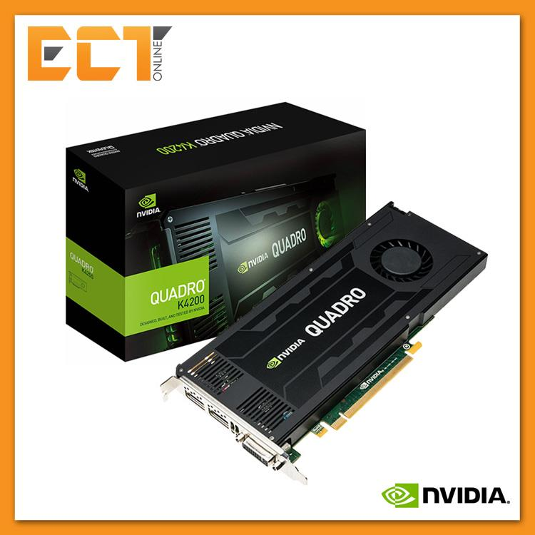 Leadtek Nvidia Quadro K4200 4GB DDR5 256Bit Workstation Graphic Card