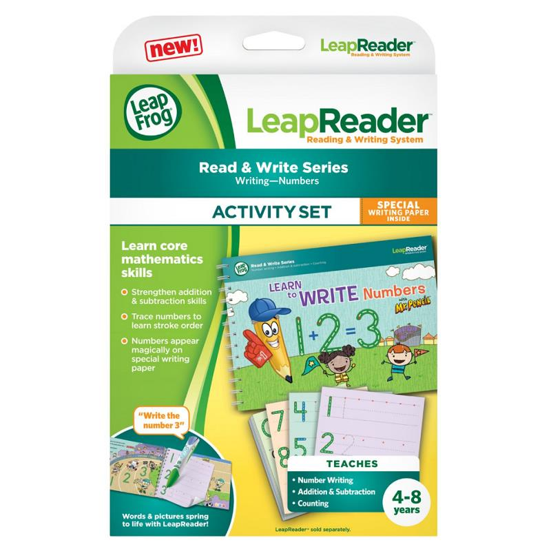 Leapfrog Leapreader Writing, Learn To Write LETTERS With Mr. Pencil Deluxe Act