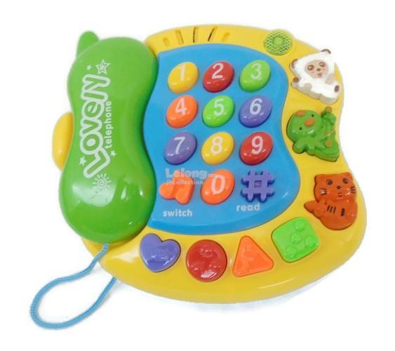 Learning Phone Toy ( Lovely Phone )