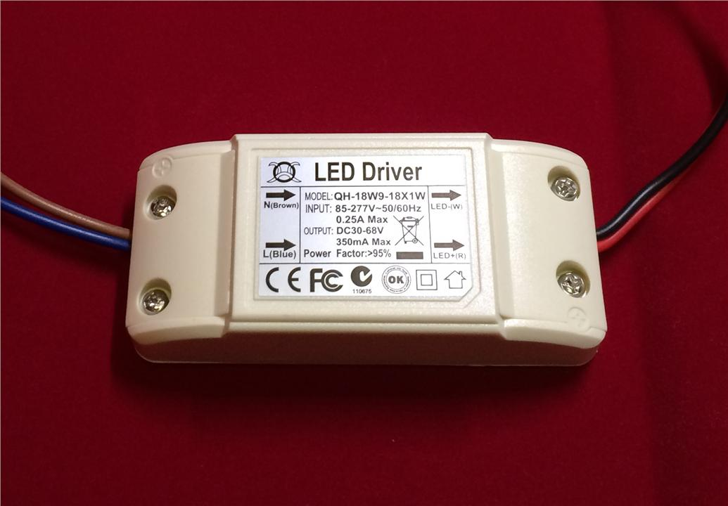 LED Light Driver 9W - 18W