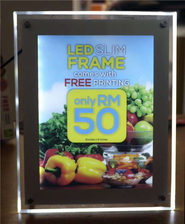 LED Light Slim Frame (Free Shipping)
