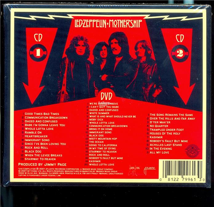 Led Zeppelin - Mothership - New CD