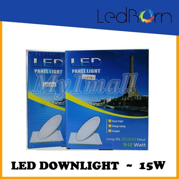 LedBorn LED Downlight 15W Round Daylight (White)