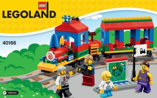 Lego 40166 Legoland Train (New, MISB)