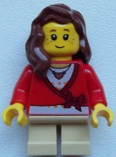 LEGO 60097 City Town Female Kid Minifigure NEW