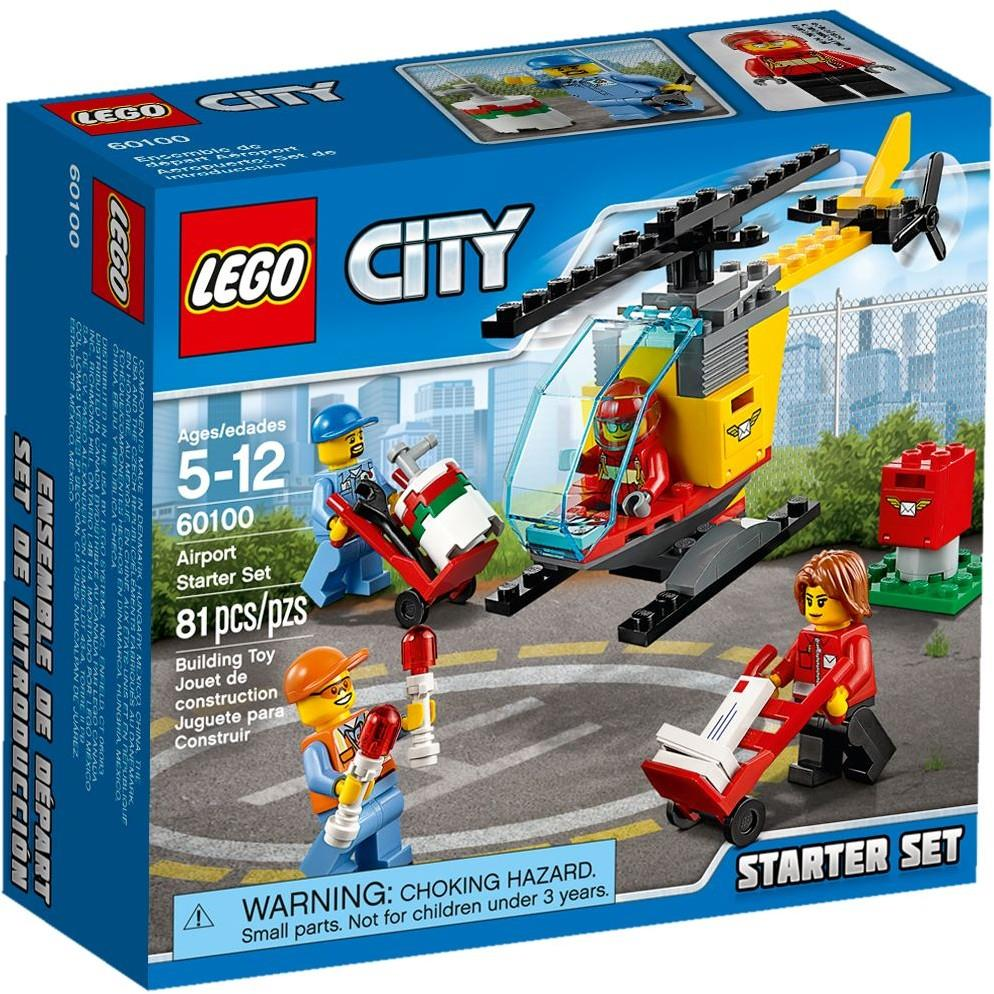 LEGO 60100 City Airport Starter Set NEW MISB