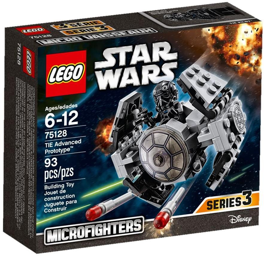 Lego 75128 Star Wars Microfighters S3 TIE Advanced Prototype NEW MISB