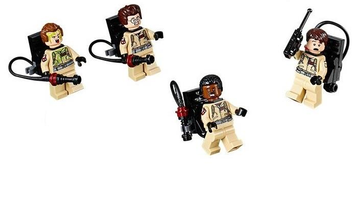 LEGO 75827 Ghostbusters Team of 4 Minifigure (Printed Arm) NEW