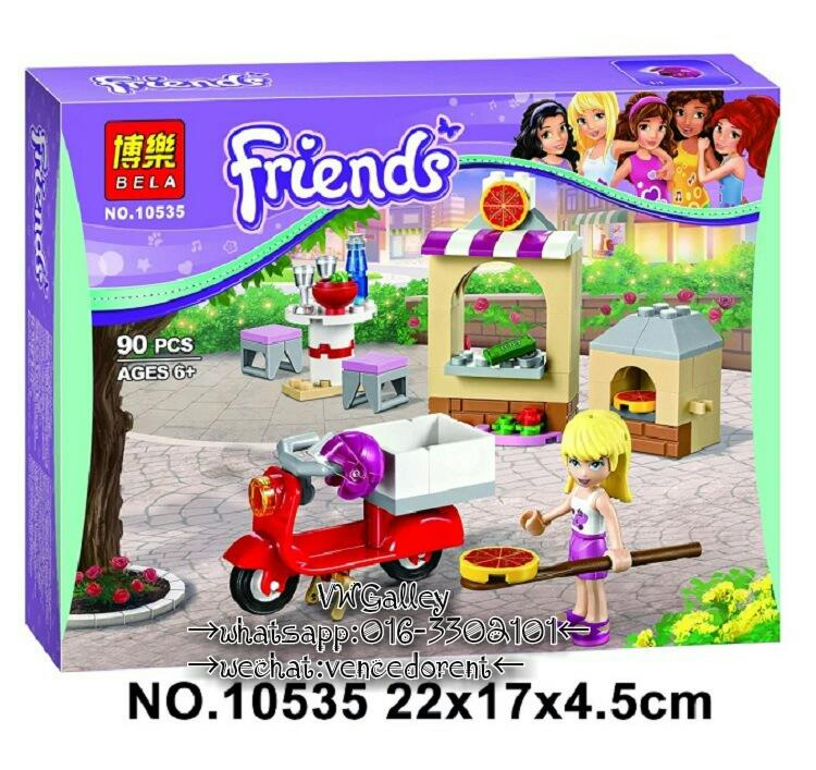 Lego Compatible Bela 10535 Friends Stephanie's Pizzeria
