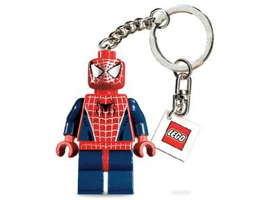 Lego Marvel Super Heroes Spider Man Mini figure KeyChain