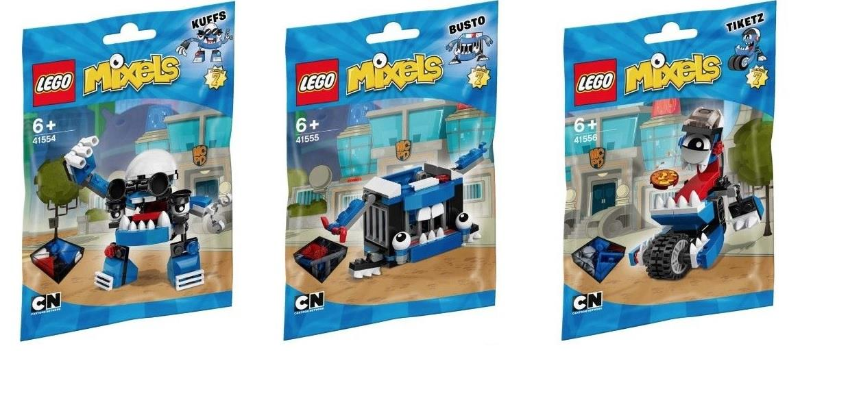 LEGO Mixels Series 7 Blue Bags 41554 41555 41556 NEW