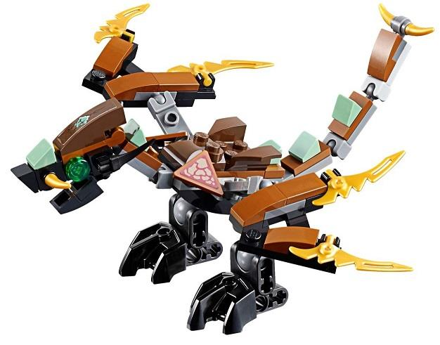 LEGO Ninjago Cole Dragon Only NEW Loose Split 70599