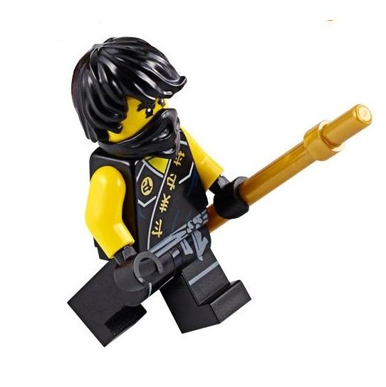 lego ninjago cole sleeveless minifigure new