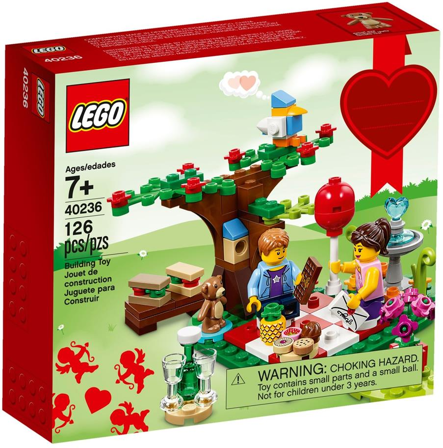 LEGO Seasonal 40236 Romantic Valentine Picnic NEW MISB