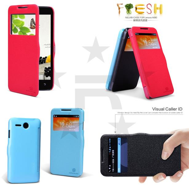 Lenovo A680 Nillkin Fresh series Leather Case - rmtlee