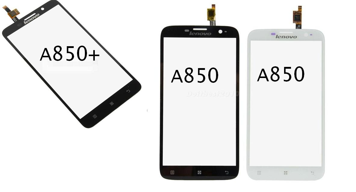 Lenovo A850 / A850 Plus A850+ Glass Digitizer Lcd Touch Screen