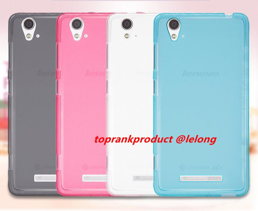Lenovo A858 A858T Matte Silicone TPU Soft Case Cover Casing +Gift