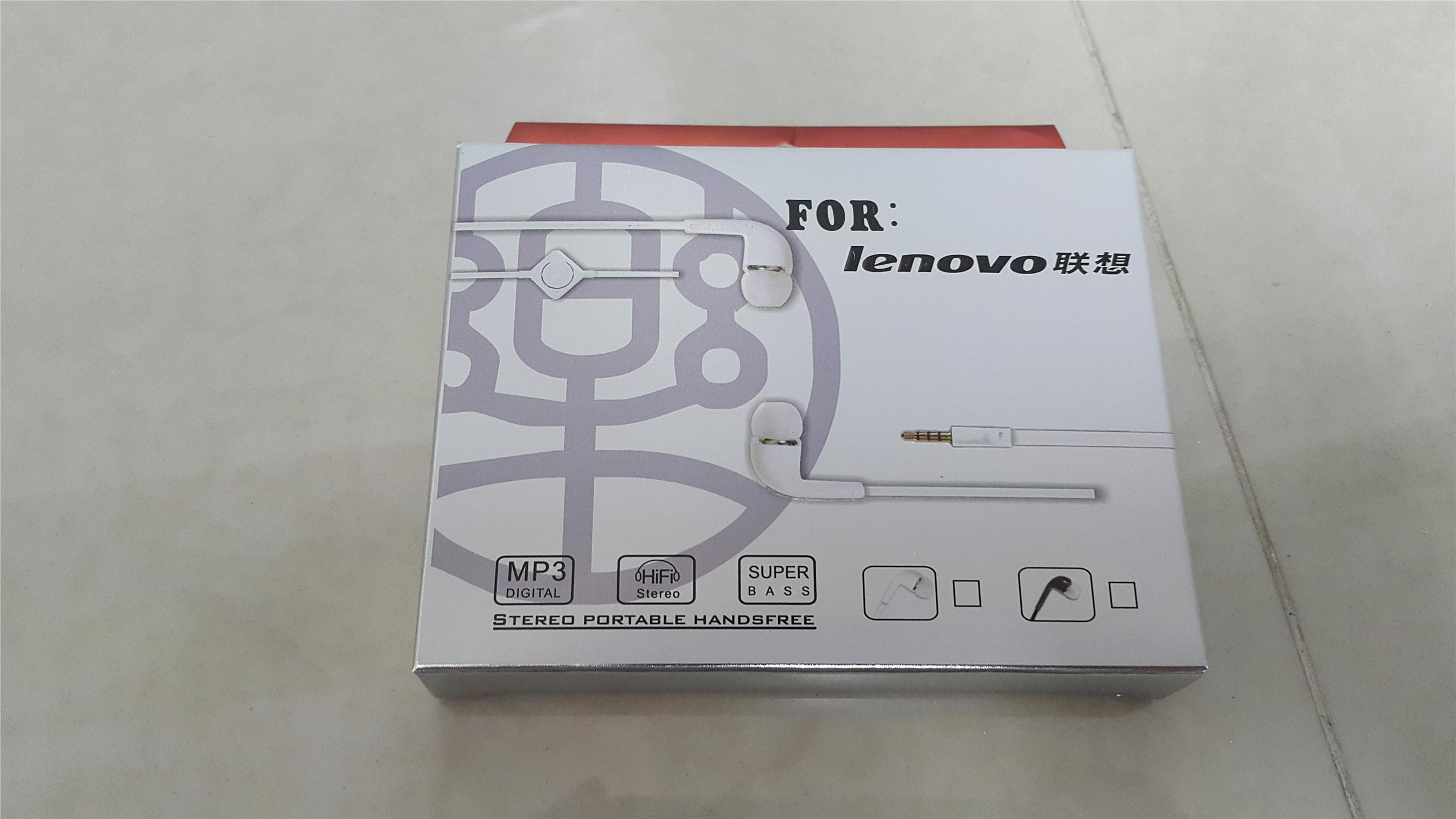 Lenovo Earphone / SmartPhone with Mic / HIFI Stereo