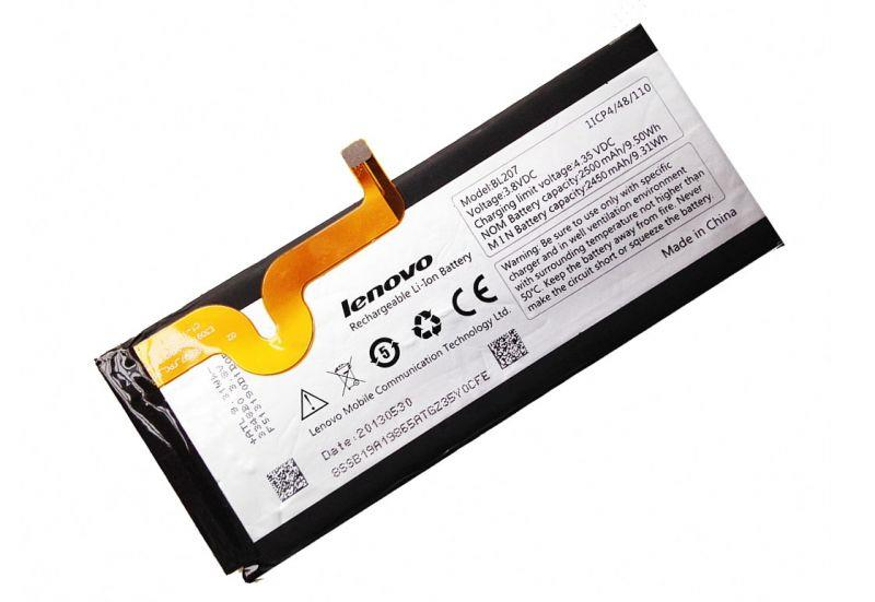Lenovo K900 K100 BL207 2450mah Battery Repair Service Part