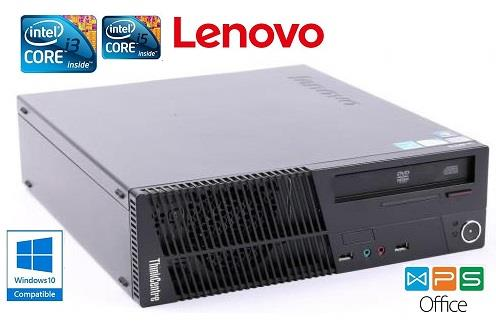 Lenovo M91 SFF Intel Core i3 3Ghz 4GB DDR3 250GB Win 10 CPU