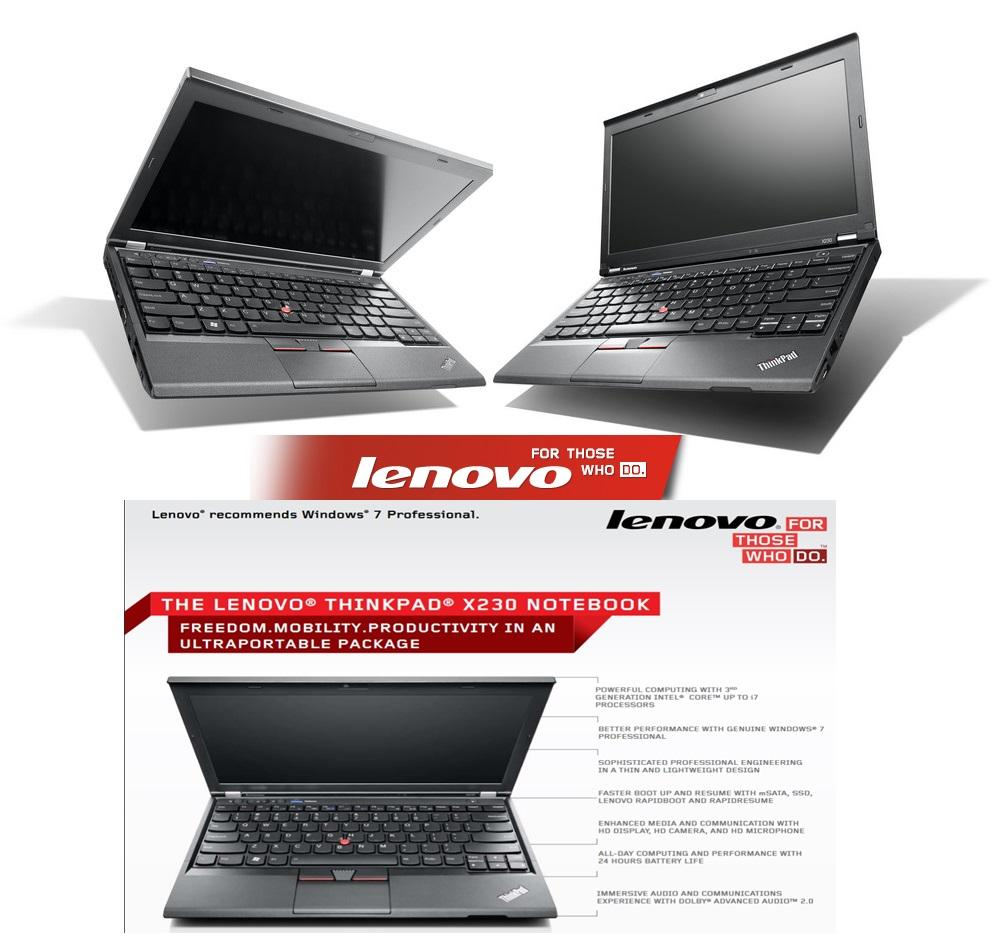 Lenovo Thinkpad X230 Commercial Business i5 Series with Premium IPS