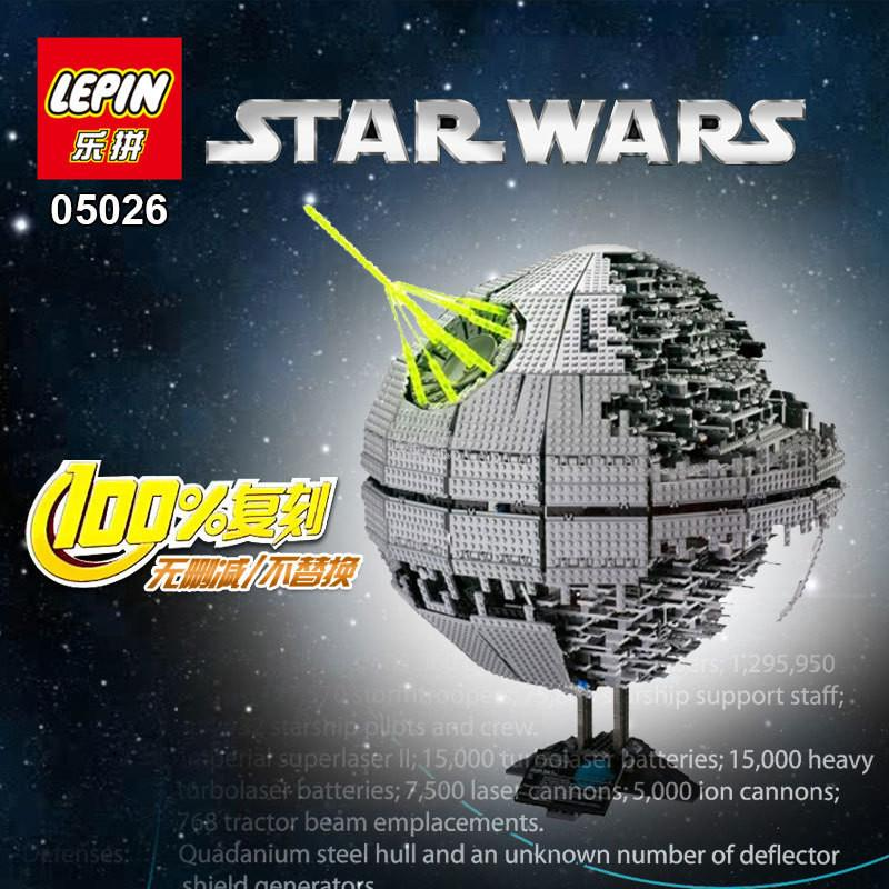 LEPIN Star Wars Death Star II 05026
