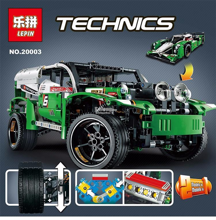 lego 24 hours race car instructions