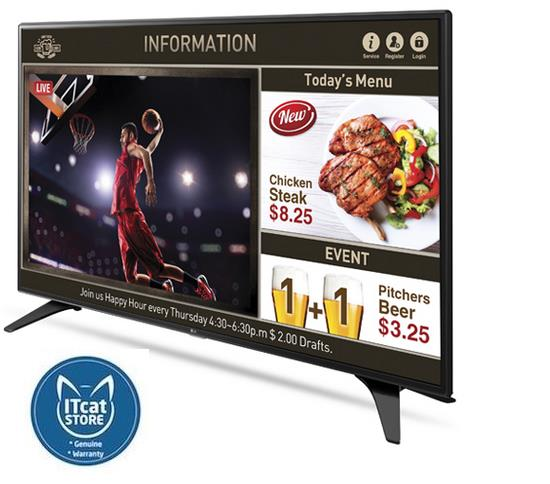 LG 49' CLASS FULL HD DIRECT LED BACKLIT COMMERCIAL DISPLAY (49LW540S)