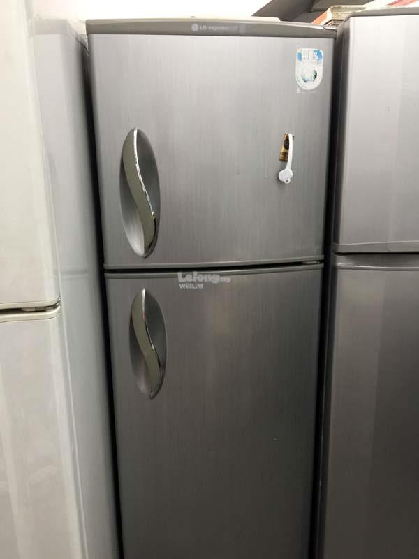 LG Freezer Ais Peti Sejuk Refurbish Refrigerator 2 Pintu Doors Fridge